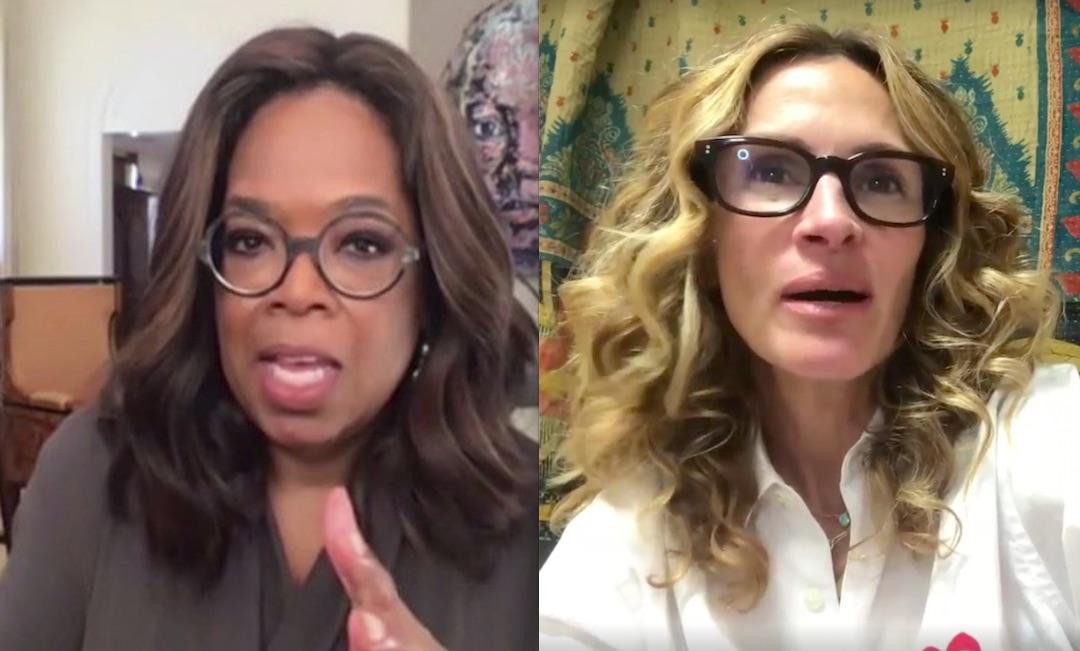 Oprah Winfrey Julia Roberts Appear In Global Virus Relief Livestream Etcanada Com