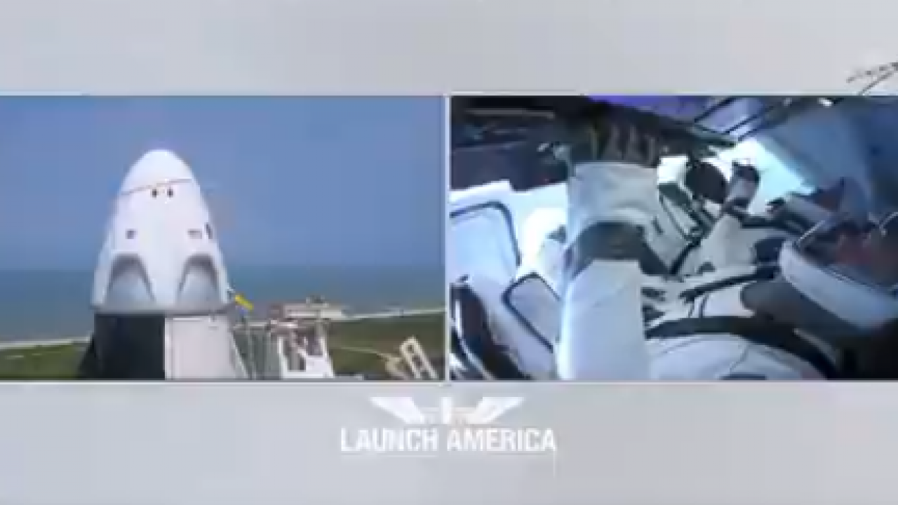 Elon Musk's SpaceX Makes History With First Astronaut Launch With NASA