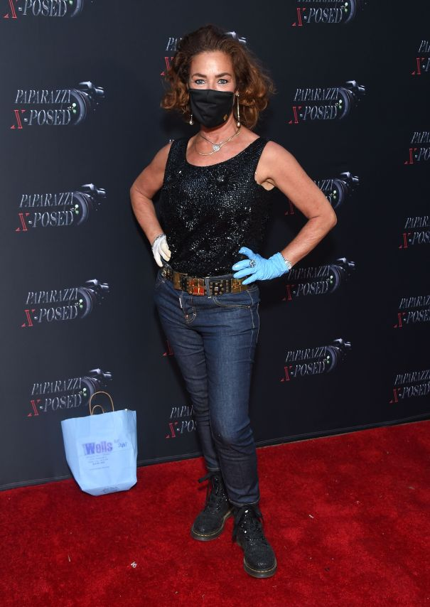 Claudia Wells Arrives In Style