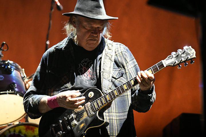 Neil Young. Photo: Dave Safley via ZUMA Wire