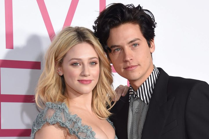 Lili Reinhart and Cole Sprouse. Photo: CP Images