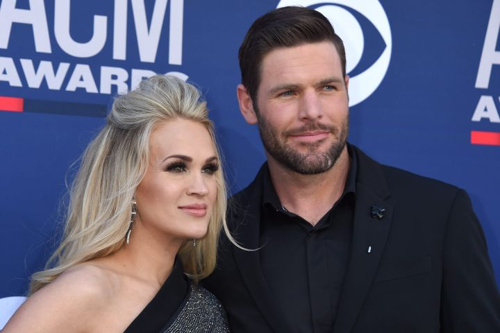 Carrie Underwood and Mike Fisher. Photo: CPImages