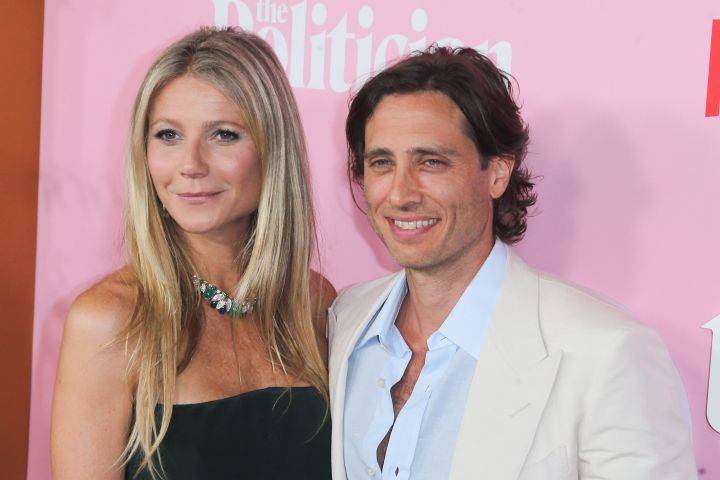 Gwyneth Paltrow and Brad Falchuk. Photo: CPImages