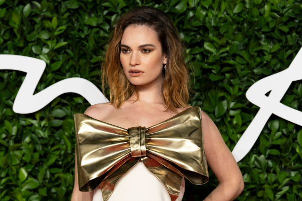 Lily James Nabs Starring Role In 'Peggy Jo'