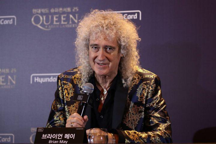Brian May. Photo: EPA/CHUNG SUNG-JUN / POOL/CP Images