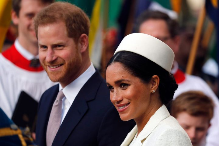 Prince Harry and Meghan Markle. Photo: CPImages