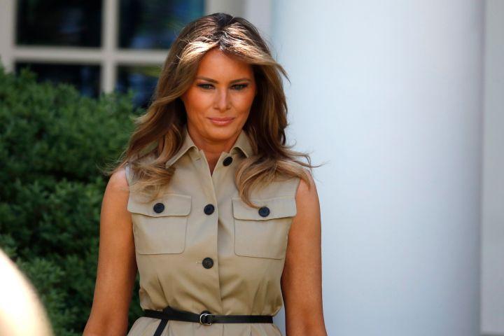 Melania Trump. Photo: CPImages