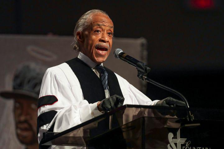 Al Sharpton. Photo: EPA/Godofredo A. Vasquez / POOL /CP Images
