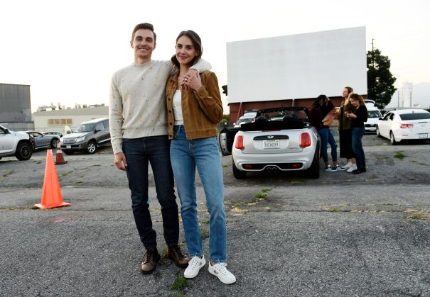 Dave Franco And Alison Brie Keep Their Distance At 'The Rental' Screening