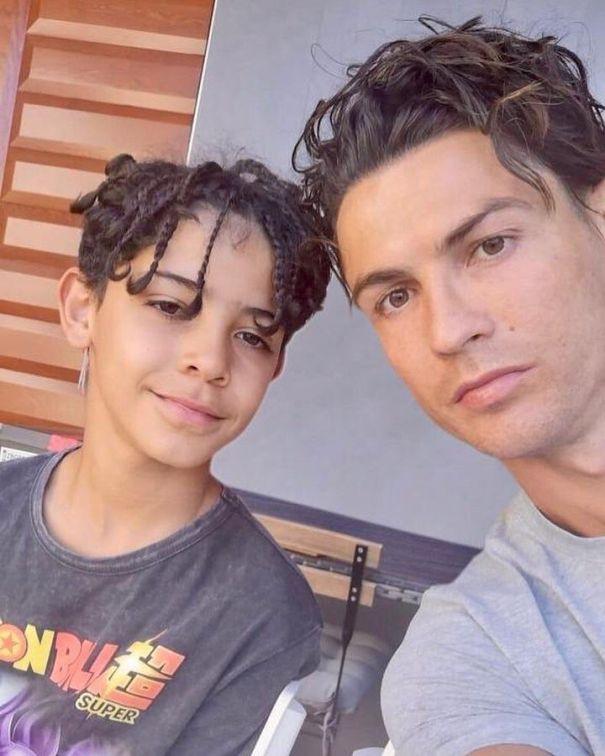 Cristiano Ronaldo's Mini Me