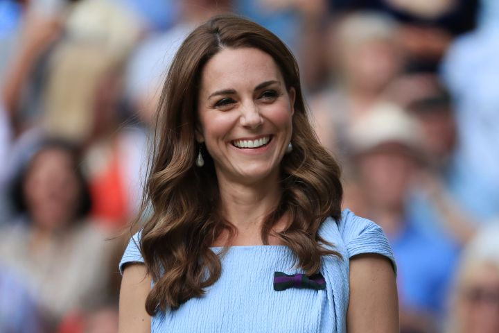 Kate Middleton at Wimbledon 2019. Photo by Simon Stacpoole/Offside/Getty Images