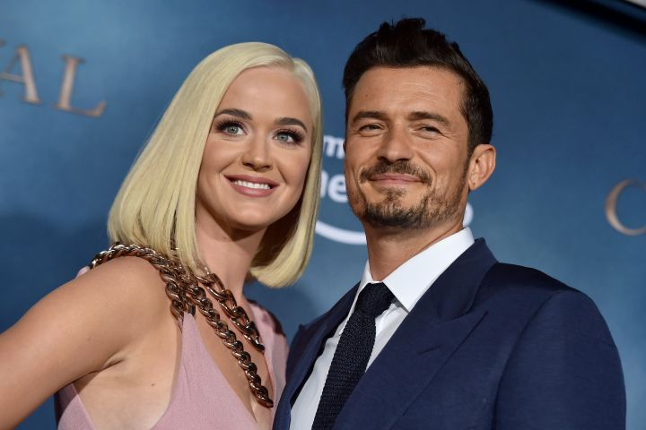 Katy Perry and Orlando Bloom. Photo: Axelle/Bauer-Griffin/FilmMagic/Getty Images