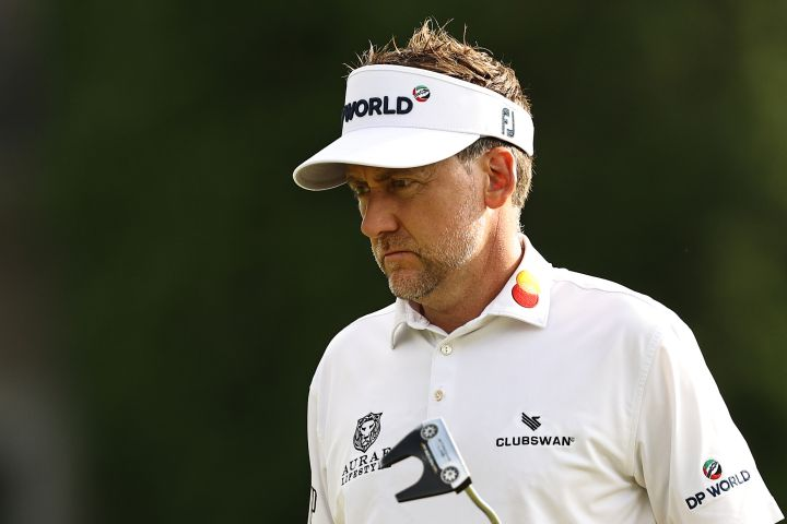 Ian Poulter. Photo by Elsa/Getty Images