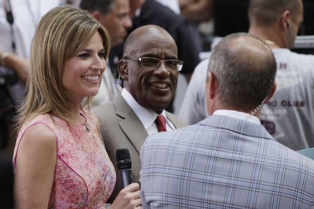 Savannah Guthrie And Al Roker Reunite In Person To Film The Today