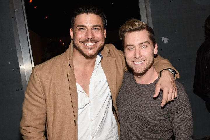 Jax Taylor, Lance Bass. Photo by Michael Buckner/Getty Images for Chevrolet Volt
