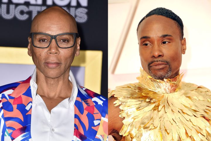 RuPaul and Billy Porter. Photo: CPImages