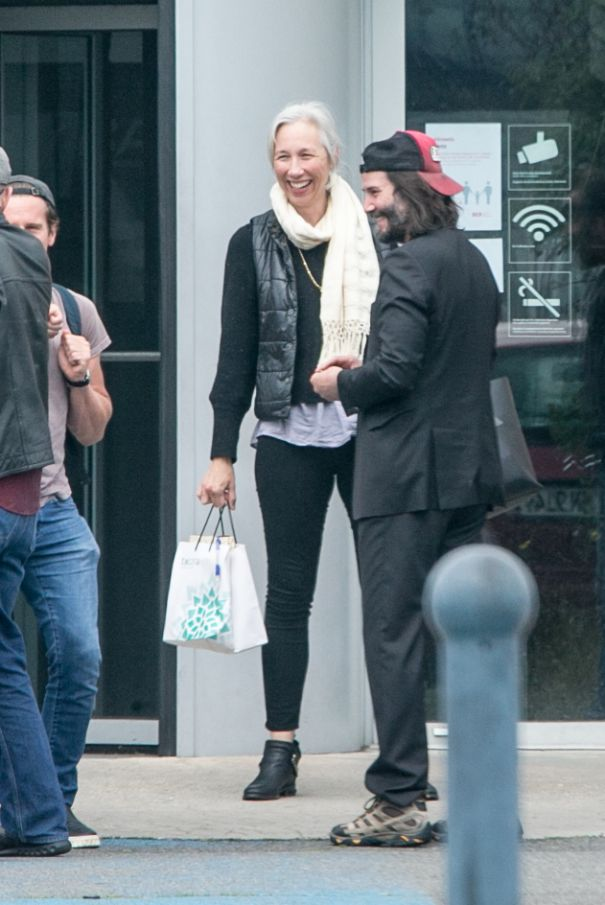 Keanu Reeves, Alexandra Grant Are Loved Up In Berlin