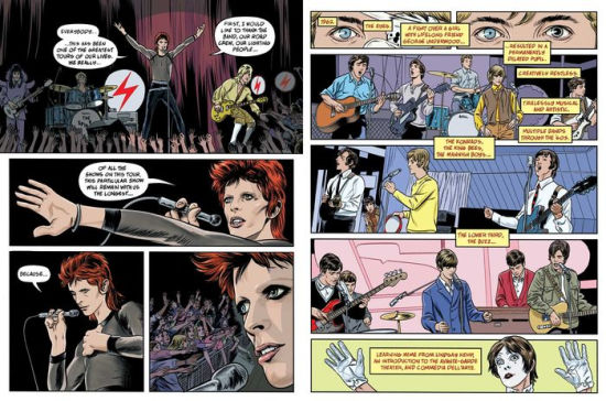 'BOWIE: Stardust, Rayguns, & Moonage Daydreams' By Michael Allred, Steve Horton