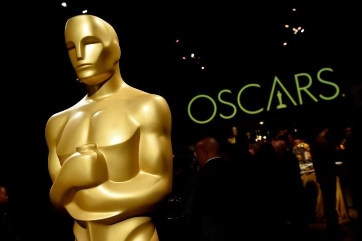 In this Feb. 15, 2019 file photo, an Oscar statue is pictured at the press preview for the 91st Academy Awards Governors Ball in Los Angeles.