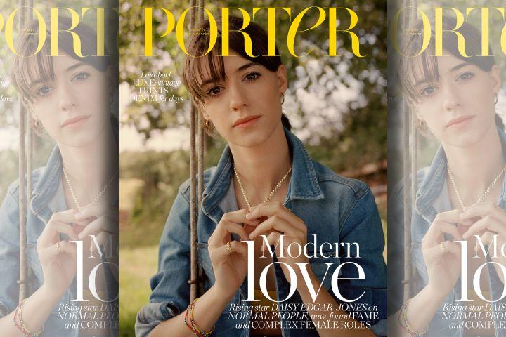 Daisy Edgar-Jones. Photo: Ben Weller for Porter