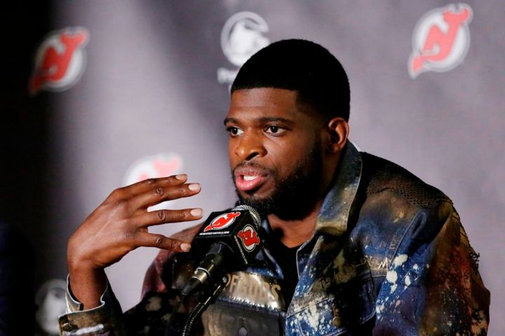 New Jersey Devils defenceman P.K. Subban says he's donated US$50,000 to a GoFundMe page set up for George Floyd's daughter, and that the NHL has matched the pledge.