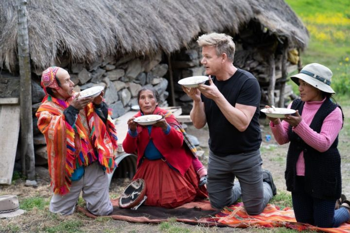 Gordon Ramsay on National Geographic's 'Uncharted.'