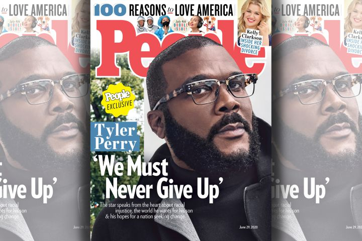 Tyler Perry. Photo: SHAYAN ASGHARNIA for People