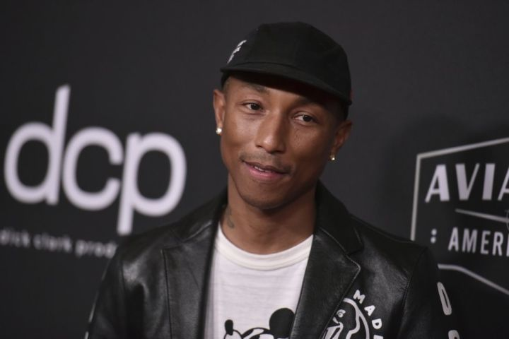 Pharrell. Photo by Richard Shotwell/Invision/AP, File