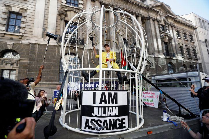 Vivienne Westwood. Photo: REUTERS/Peter Nicholls