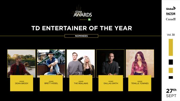 TD Entertainer Of The Year