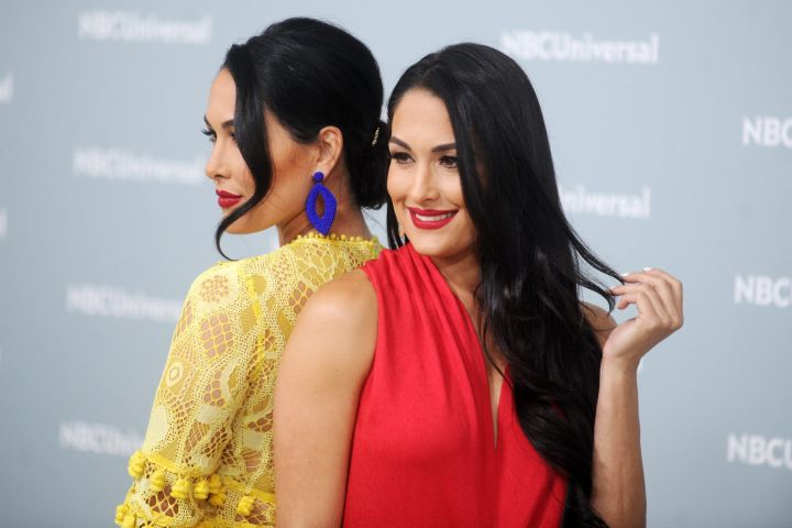Brie & Nikki Bella Go Completely Nude for Stunning Joint