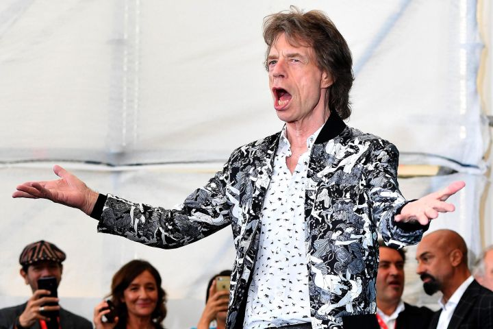 Mick Jagger. Photo: EPA/ETTORE FERRARI/CP Images