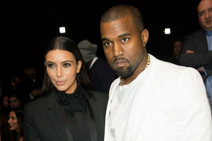 Kim Kardashian and Kanye West. Photo: Thierry Orban/ABACAPRESS.COM/CP Images