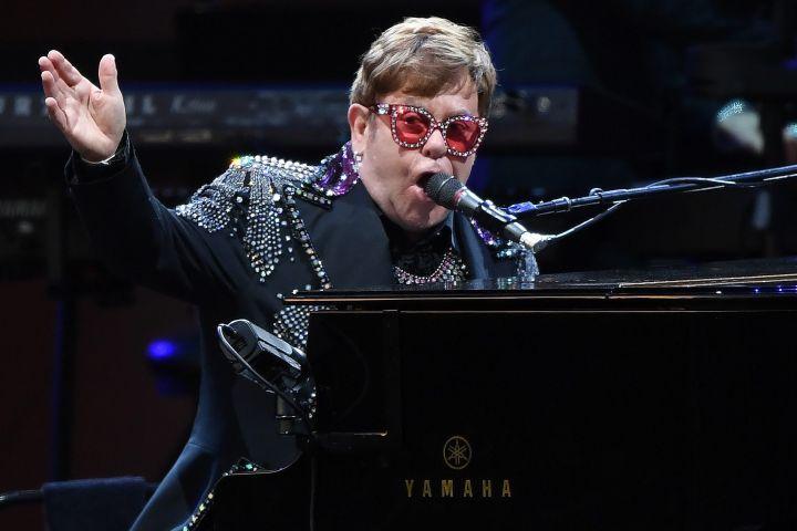 Elton John. Photo: EPA/JULIAN SMITH/CP Images