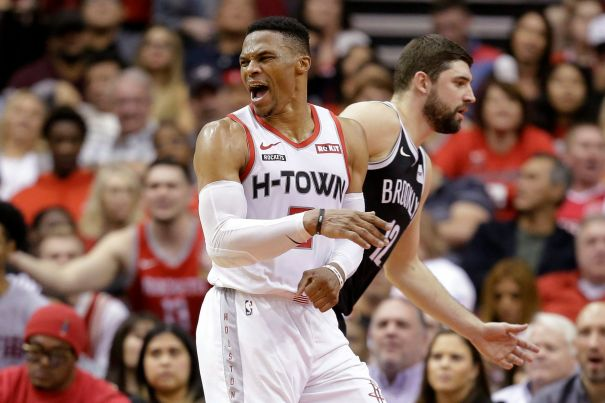 Houston Rockets' Russell Westbrook Tests Positive