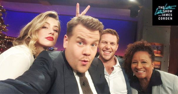 Snub: James Corden Left Out Of The Fun