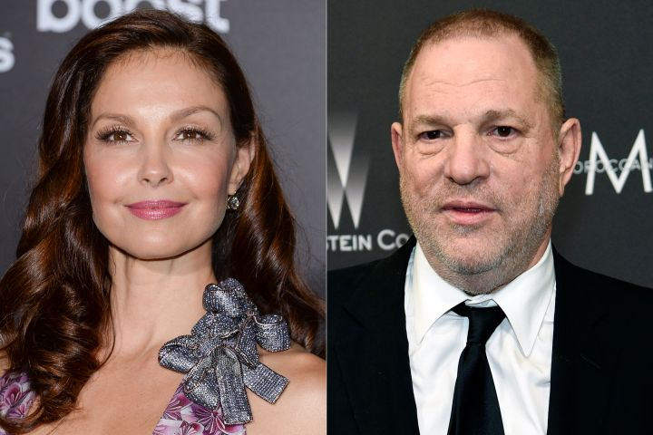 Ashley Judd and Harvey Weinstein. Photo: CPImages