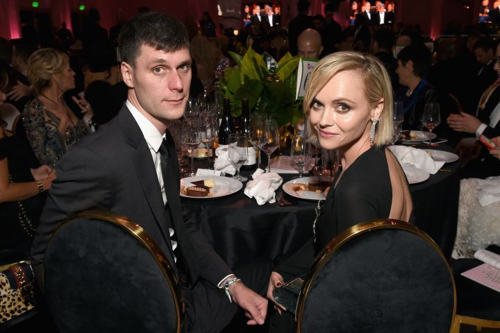 James Heerdegen and Christina Ricci. Photo: Getty Images