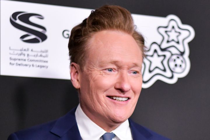 Conan O'Brien. Photo: Getty Images
