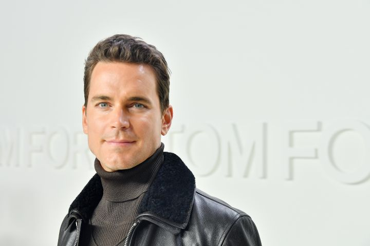 Matt Bomer. Photo by Stefanie Keenan/Getty Images for TOM FORD: AUTUMN/WINTER 2020 RUNWAY SHOW
