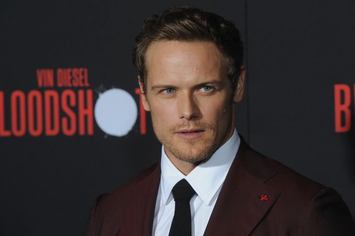 Sam Heughan - Getty Images
