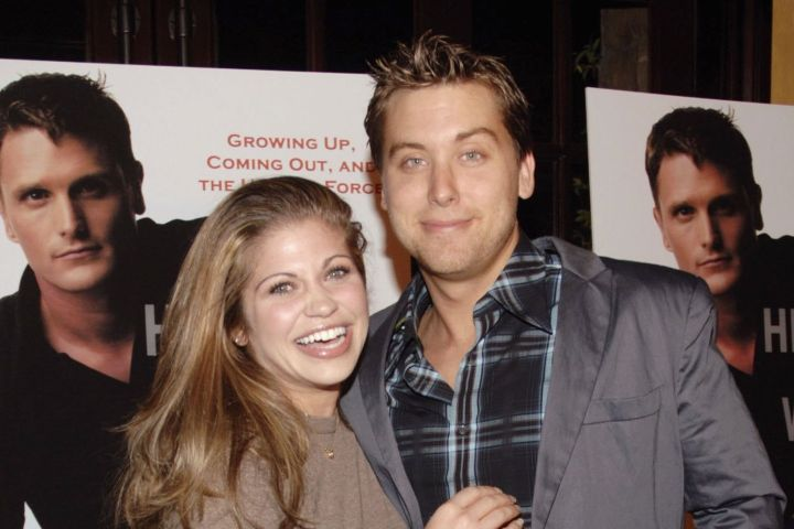 Danielle Fishel and Lance Bass. Photo: John M. Heller/Getty Images
