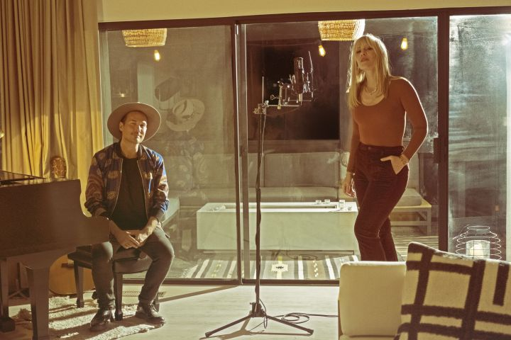 Jonas Myrin and Natasha Bedingfield. Photo: Dayne Malan