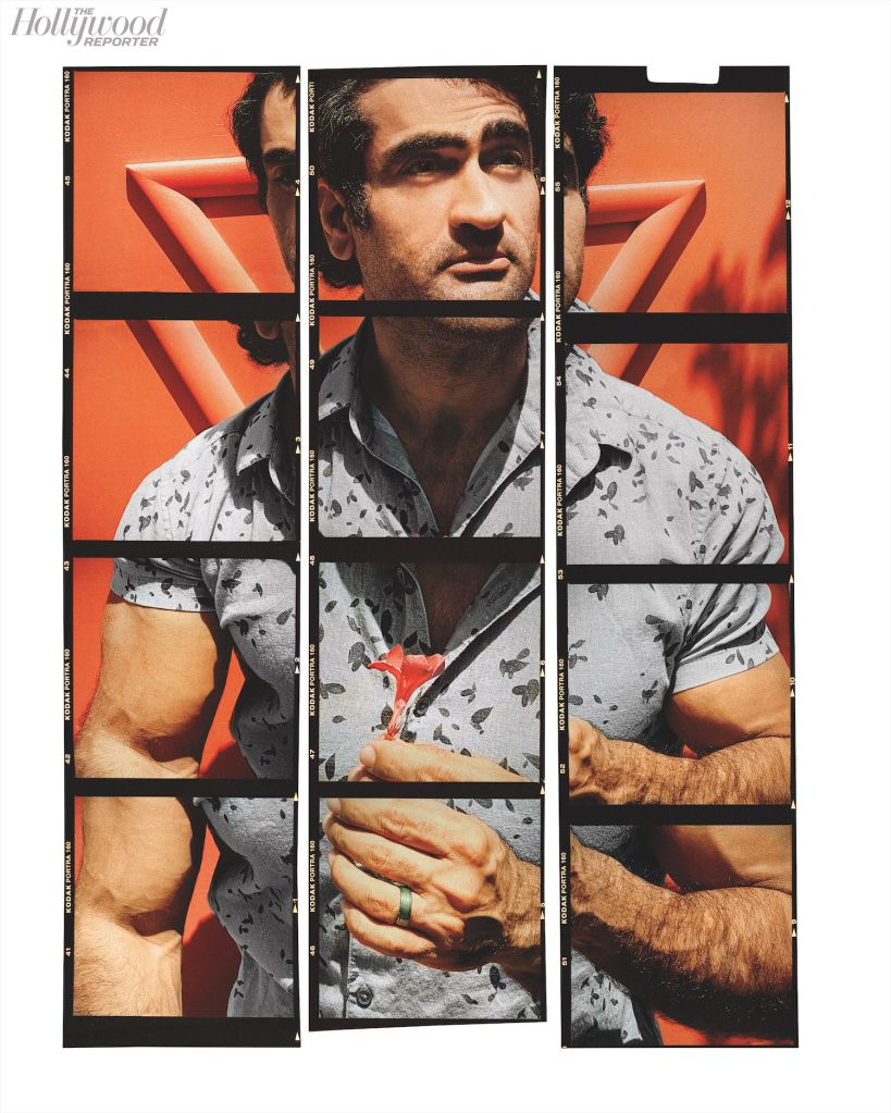 Kumail Nanjiani. Photo: Austin Hargrave for The Hollywood Reporter