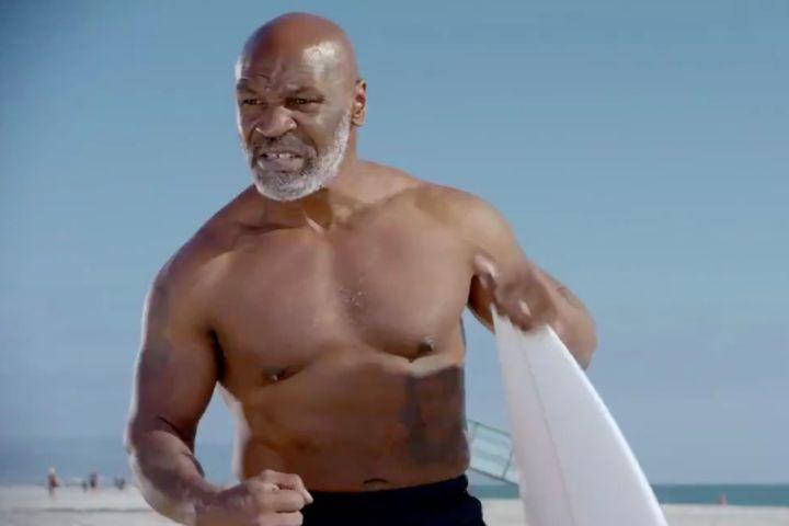 Mike Tyson. Photo: Shark Week/Twitter
