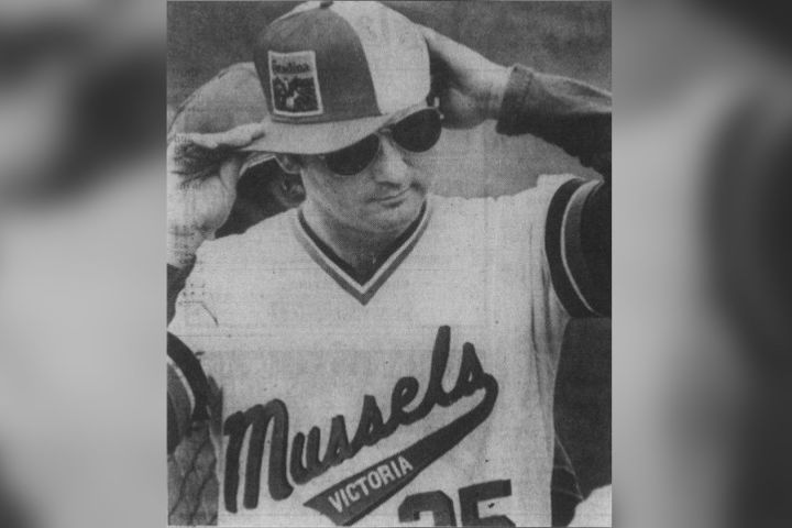 Bill Murray at Victoria's Royal Athletic Park on Aug. 18, 1979.