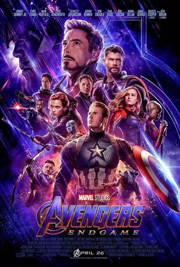 4. 'Avengers: Endgame' (2019)