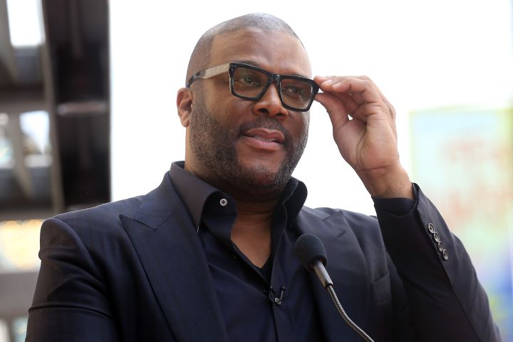 Tyler Perry speaks onstage during the ceremony honoring Dr. Phil McGraw with a Star on The Hollywood Walk of Fame held on February 21, 2020 in Hollywood, California.