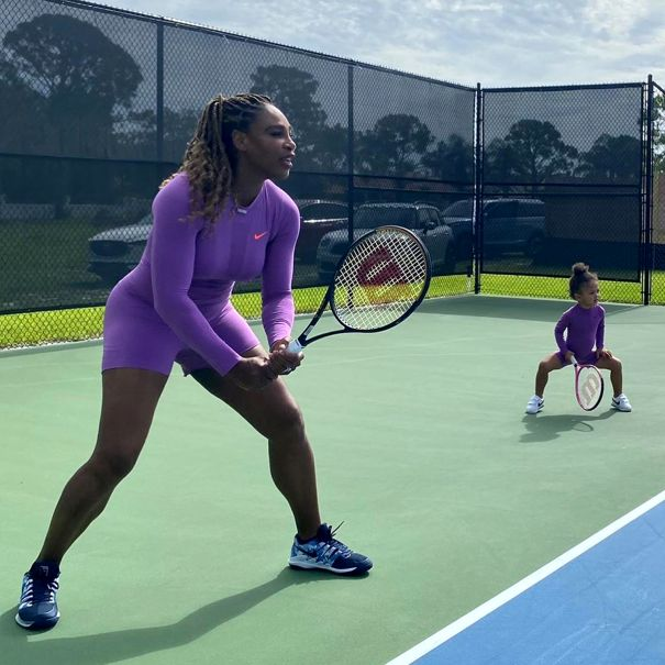 Small Swings With Serena Williams
