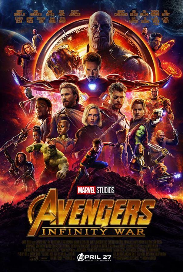 5. 'Avengers: Infinity War' (2018)